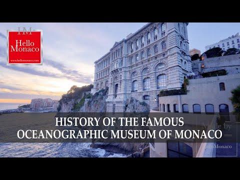 History of the famous Oceanographic Museum of Monaco