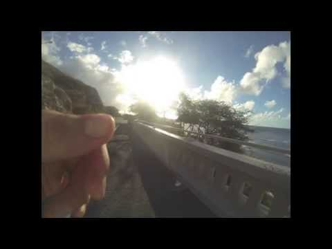 Running Waikiki and around Diamond Head Crater