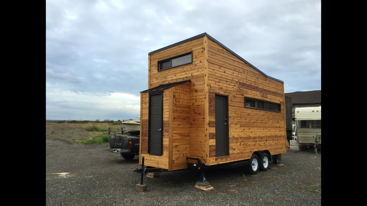 Kequyens tiny house in british columbia youtube