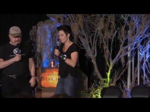 VegasCon 2016 Jim Beaver and Kim Rhodes FULL Panel Supernatural