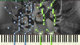 Madagascar - Zoosters Breakout [EXPERT] - Piano tutorial (Synthesia)