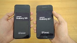 Samsung Galaxy S8 Plus vs Galaxy A7 (2017) - Speed Test! (4K)