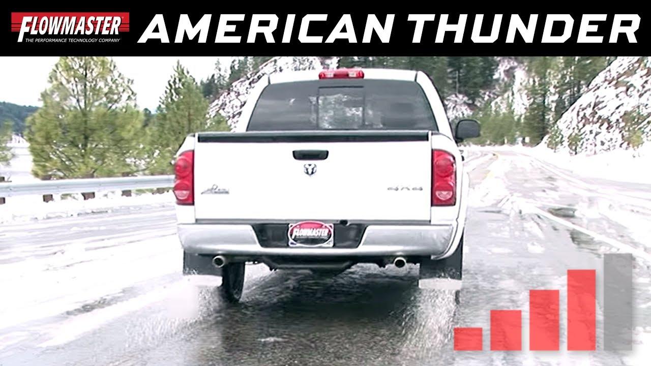 2008 dodge ram 1500 5.7 hemi exhaust