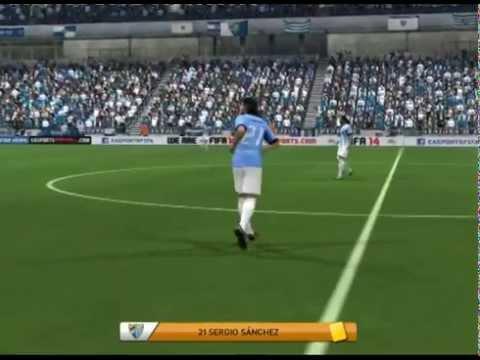 FIFA 14 (UEFA Champions League Spiel.31 Málaga CF vs Standard Lüttich)
