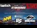 LIVE Team Secret vs NaVi | StarSeries Season 3 Europe Qualifiers  Dota 2 7.00