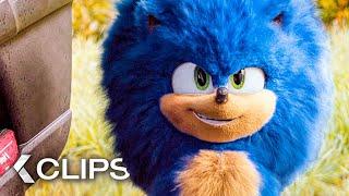 SONIC: The Hedgehog Clİps & Trailer German Deutsch (2020)