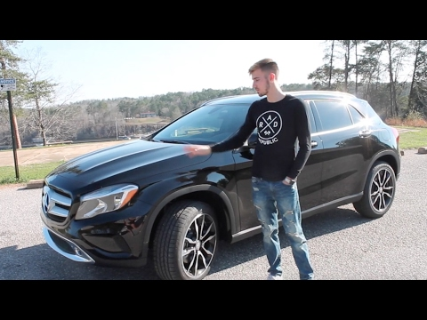 review of the 2017 mercedes gla 250 youtube. Black Bedroom Furniture Sets. Home Design Ideas