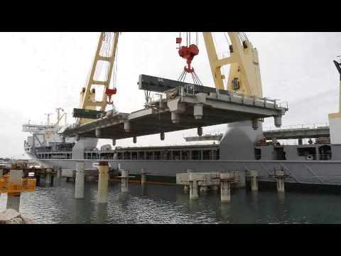 SAL: MV Svenja, Karara Iron Ore Project - Positioning Of Wharf Modules