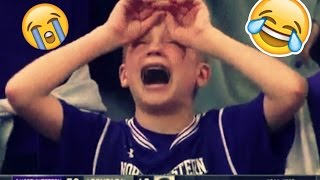 Crying Northwestern NCAA Fan Immediately Goes All Over The Internet