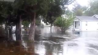 Hurricane Florence: Storm Surge Flooding in New Bern, North Carolina | Sept 13, 2018