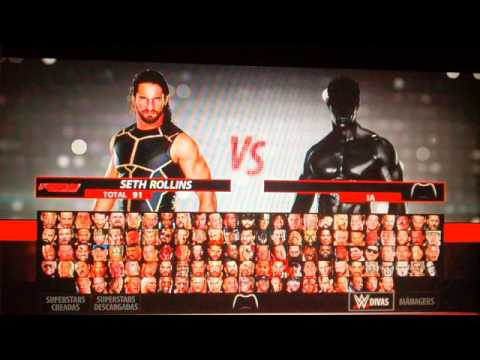 Roster Completo Wwe2k16 Xbox 360 Managers YouTube