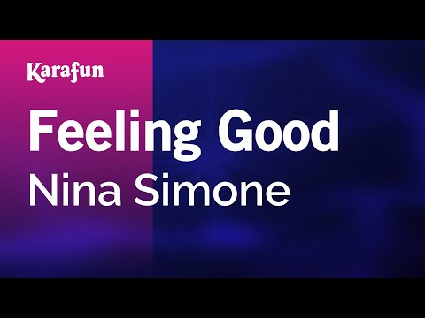 Karaoke Feeling Good - Nina Simone *