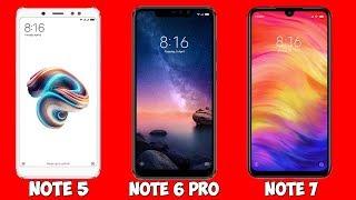 Покупать Redmi Note 5, Note 6 Pro или ждать Redmi Note 7?