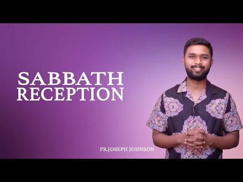 SABBATH RECEPTION