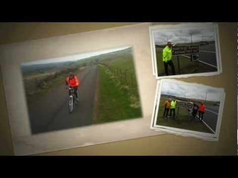 Damon, Stew, Mark & Paul ride the C2C  May 2012