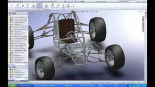 ATV Solidworks 3 D CAD model   YouTube