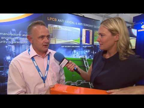 Morgan Marine  Interview at IFSEC 2017