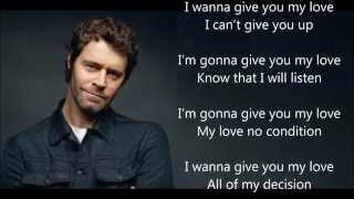 Take That - Give You My Love (Lyric)