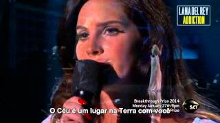 Lana Del Rey - Video Games (Live at Breakthrough Prize Inaugural Ceremony) [Legendado] Thumbnail