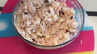 США 🇺🇸 мои рецепты и это Ну очень вкусный салат с куриной грудки. Рецепты от Тани 👍