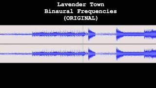 Lavender Town ORIGINAL Binaural Frequencies