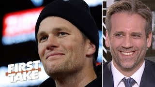Tom Brady beating the Chargers doesn't change Max's 'falling off cliff' theory | First Take