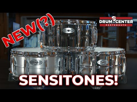 Download NEW Pearl Sensitone Heritage Alloy Snare Drum Review