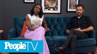 Justin Theroux Was Injured During His 'Mulholland Drive' Fight Scene With Billy Ray Cyrus | PeopleTV