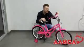 Детский двухколесный велосипед PROFI Star L1892 для девочек 18 дюймов