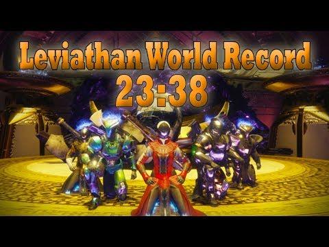 Worlds Fastest Leviathan Speedrun [23:38] - By Euros