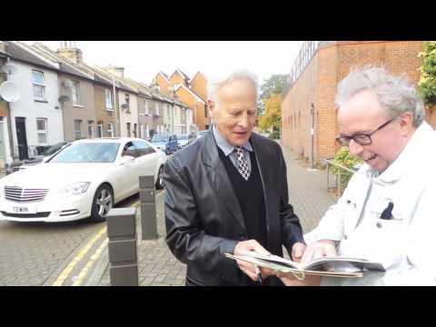 Mark Wynter and Marty Wilde in Dartford 23 10 2016