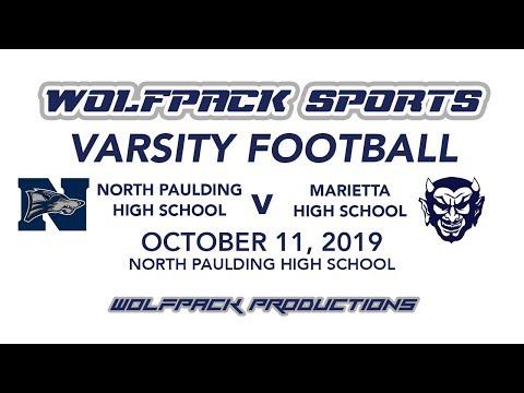 Varsity Football: North Paulding V Marietta