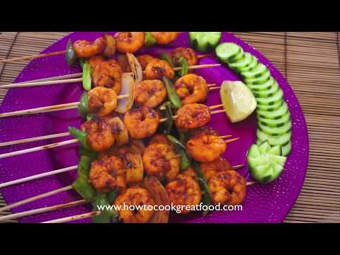 Asian Prawn BBQ Recipe Shrimp How to Cook Great chilli garlic banana ketchup soy king