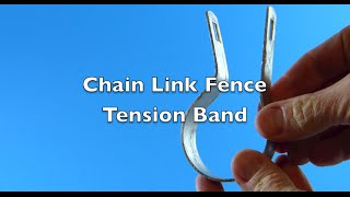 Chain Link Fence Tension Bands