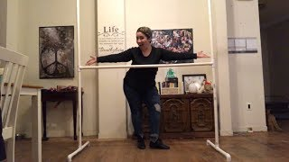 DIY TUTORIAL // Creating a backdrop stand under 10 minutes // under $20