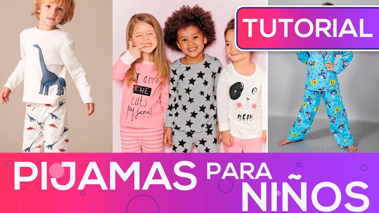 45099b6599 Pijamas para NIÑOS como hacer - YouTube