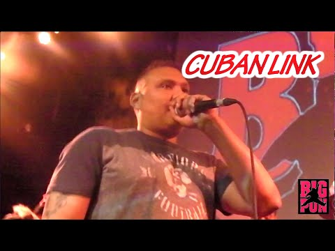 CUBAN LINK PERFORMANCE AT THE BIG PUN TRIBUTE SHOW IN NEW YORK CITY
