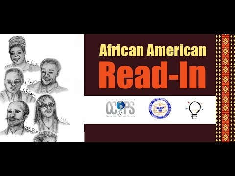 African American Read-In 2016