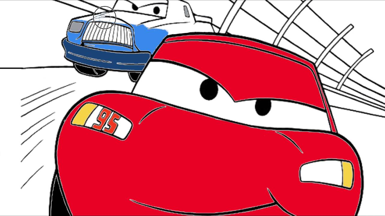 Cars Disney Arabalar 8 şimşek Mcqueen çizgi Film Karakter Boyama