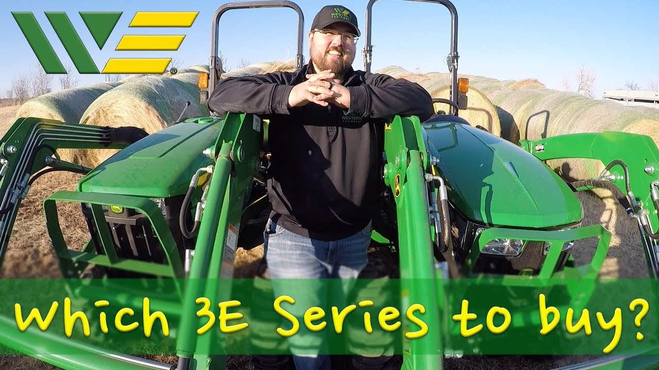 Which John Deere 3E Series Tractor Should you buy? 2017, 2018 or 2019