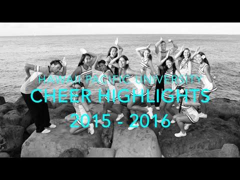 HPU Cheer 2015 - 2016