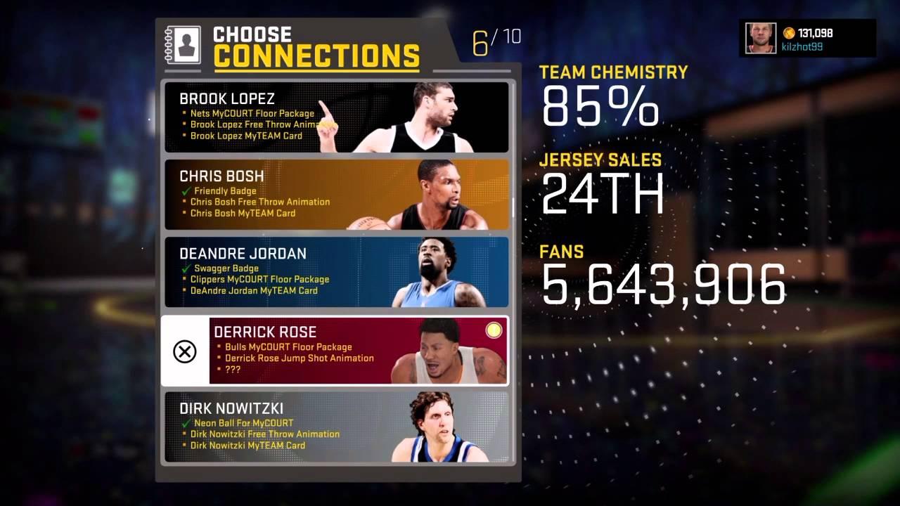 NBA 2K 16 My Career - Michael Jordan, Derrick Rose and Spike Lee Connection  - My Court Swag