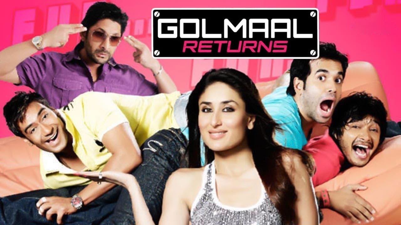 Download Golmaal Returns (HD) | Ajay Devgan | Kareena Kapoor | Arshad Warsi | Bollywood Latest Movie