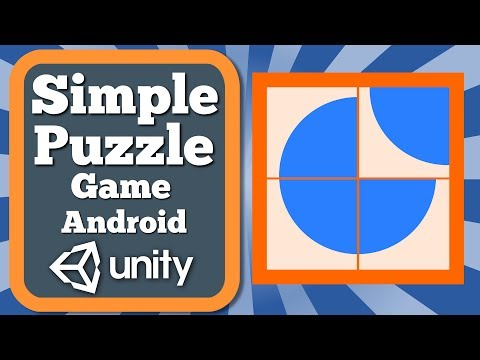 Unity Tutorial How To Make A Simple Puzzle Game For Android | Rotate Puzzle Game