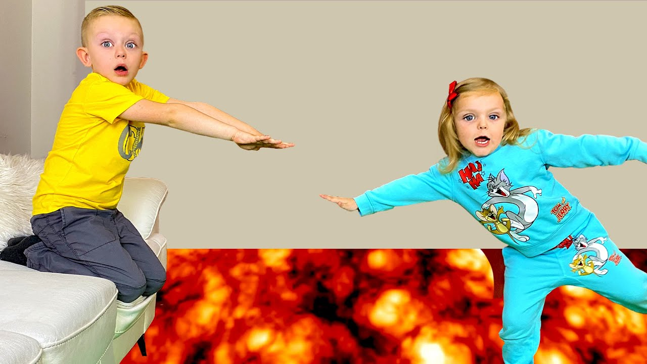 The Floor is Lava with Martin and Monica