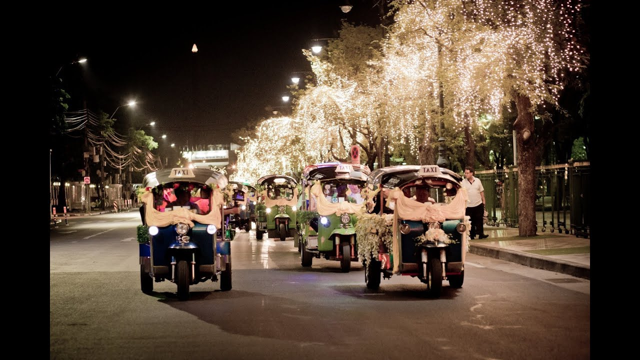 The Tuk Wedding In Bangkok