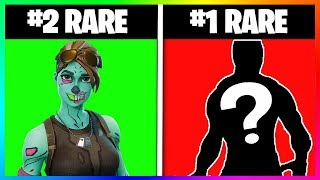 THE 10 SKINS - PIOCHES THE MORE RARES ON FORTNITE BATTLE ROYAL! (Fortnite Battle Royale season 4)