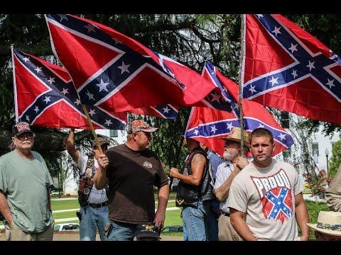 Racist Groups Protest MLK Memorial In Georgia