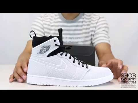 3b873212992 Air Jordan 1 Ultra High Retro White Black Unboxing Video at Exclucity -  YouTube