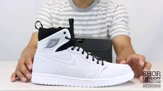 753aed541f4753 Air Jordan 1 Ultra High Retro White Black Unboxing Video at Exclucity